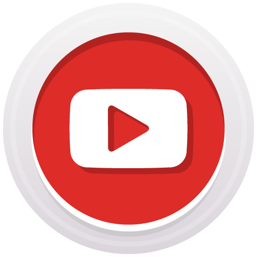 Youtube Icon Free Of Round High Quality Social Media Icons
