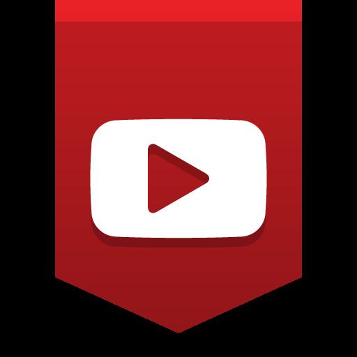Youtube Icon Social Media Buntings Iconset Social Media Icons