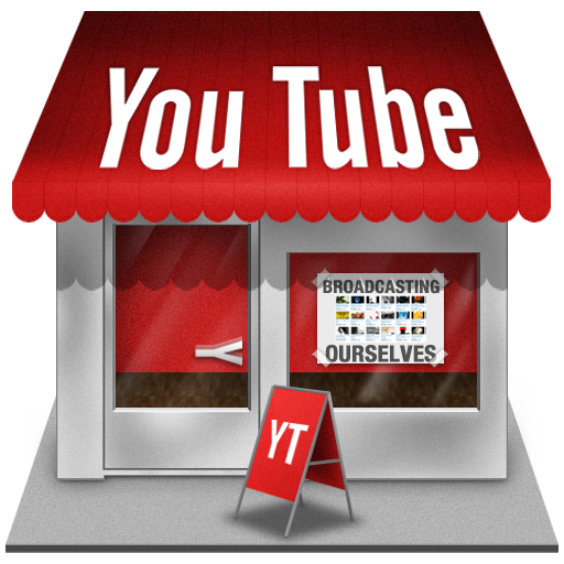 Shop, Youtube Icon