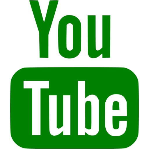 Great Green Youtube Icon Free Green Site Logo Icons This Month