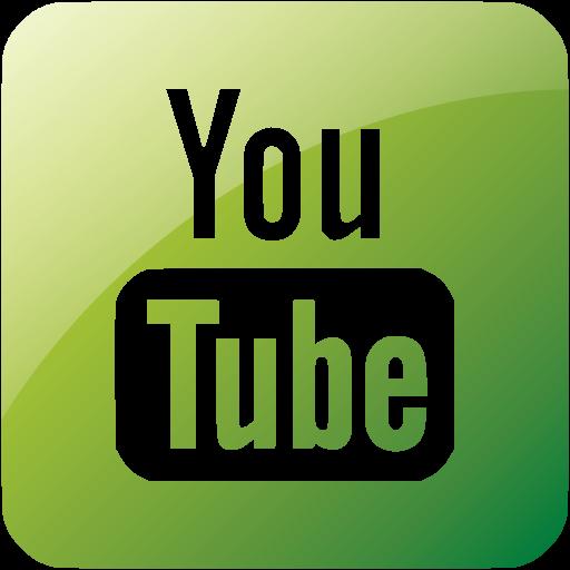 Web Green Youtube Icon