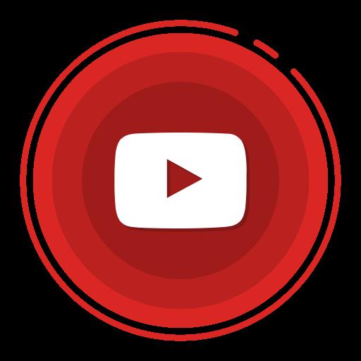 Youtube, Social Media Icons Icon