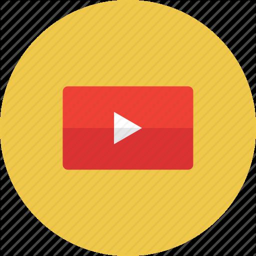 Arrow, Film, Movies, Music, Play, Video, Youtube Icon