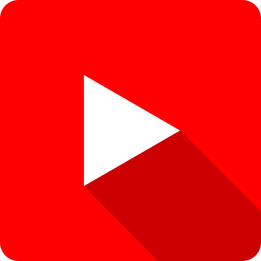Play, Red, Shadow, Square, Tube, You, Youtube Icon
