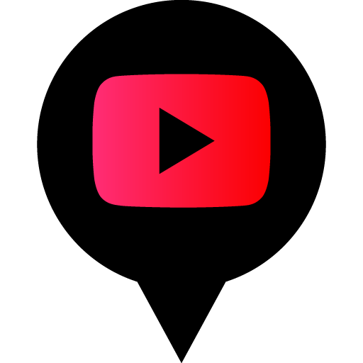 Youtube Play Free Black Red Social Media Pn Designed