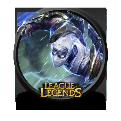 Zed Shockblade Icon League Of Legends Iconset