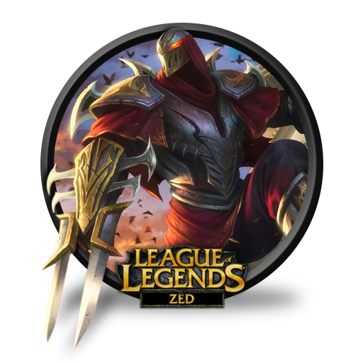Zed Unofficial Icon League Of Legends Iconset