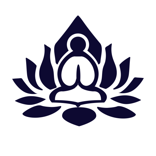 Zen Lotus, Lotus Position, Meditation Icon With Png And Vector