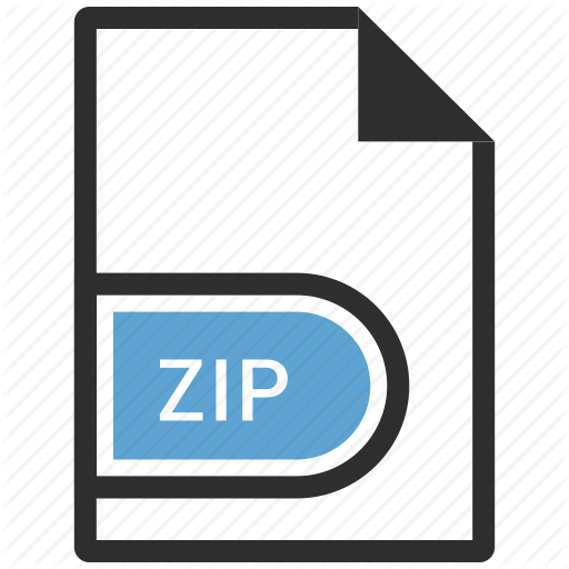 Achieve, File, Zip Icon