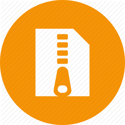 Archive, Compressed, Document, File, Zip, Zipper Icon