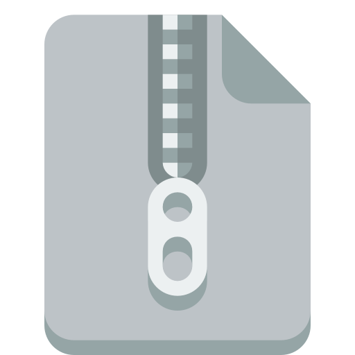 Zip Icon Small Flat Iconset Paomedia
