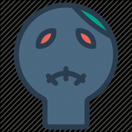 Creepy, Monster, Mummy, Zombie Icon
