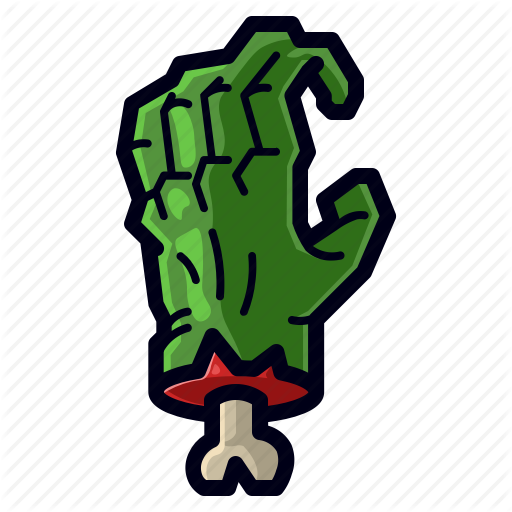 Dead, Hand, Holiday, Scary, Spooky, Zombie Icon