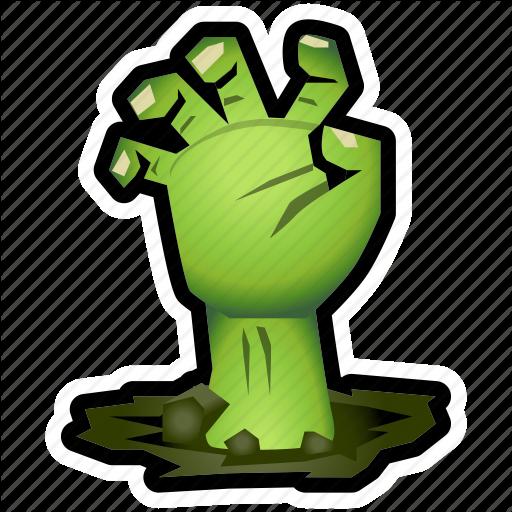 Evil, Halloween, Hand, Monster, Undead, Zombie Icon