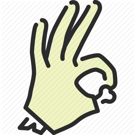 Gesture, Halloween, Hand, Ok, Okay, Yes, Zombie Icon