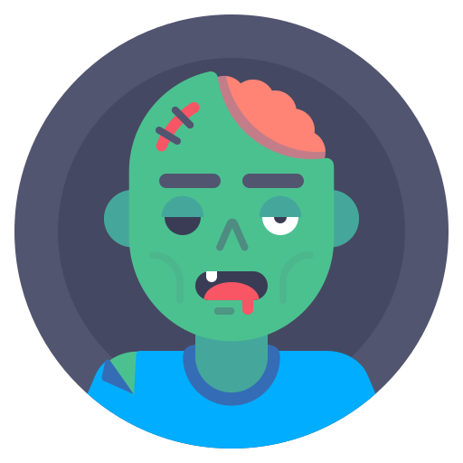 Avatar, Dead, Monster, Zombie Icon Free Of Xmas Giveaway