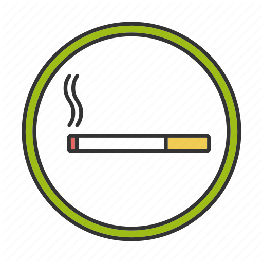 Area, Cigarette, Place, Smoke, Smoker, Smoking, Zone Icon