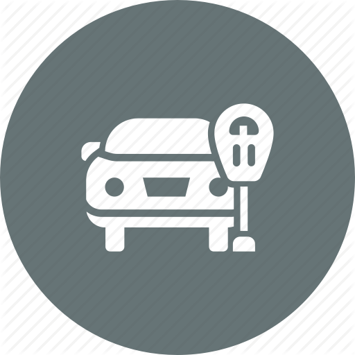 Car, Lot, Park, Parking, Ticket, Zone Icon