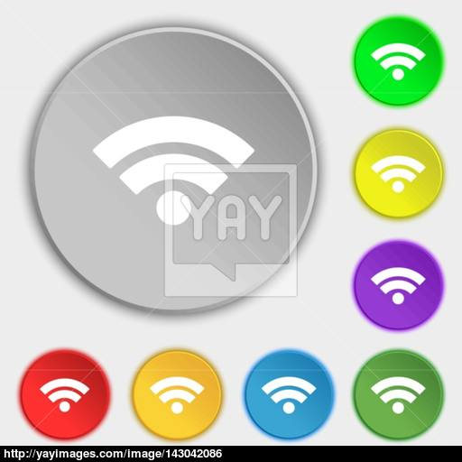 Wifi Sign Wi Fi Symbol Wireless Network Icon Wifi Zone Symbols