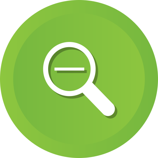 Glass, Magnifying, Out, Search, Detective, Magnifier, Zoom Icon