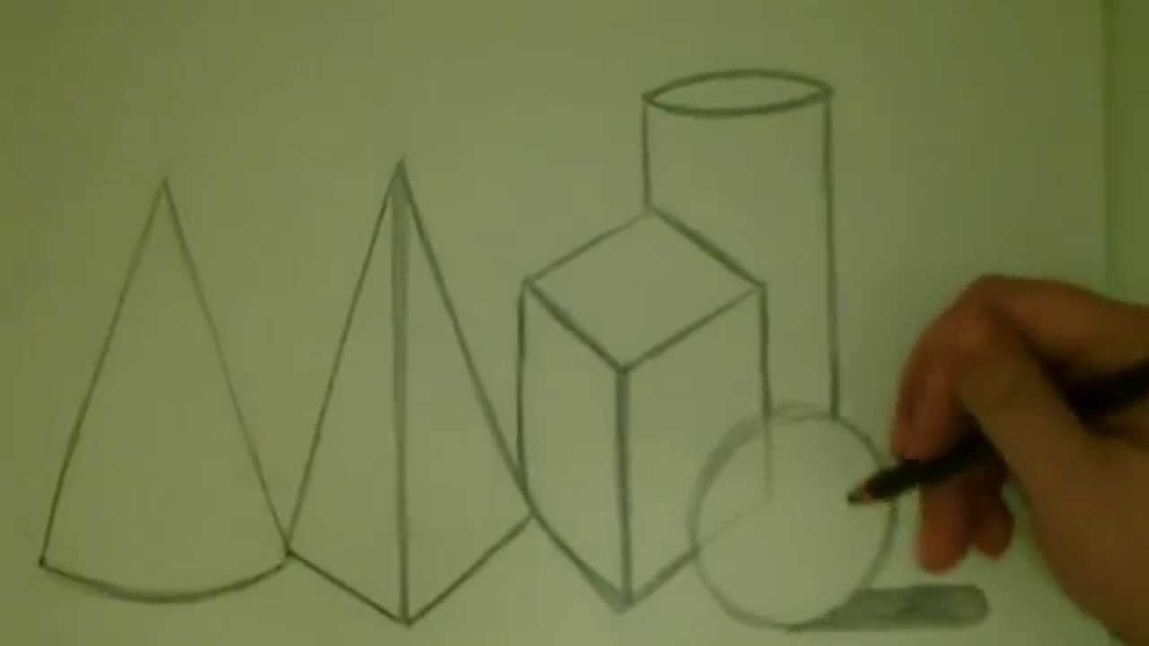 1280x720 Let's Draw 3 D Shapes Together!