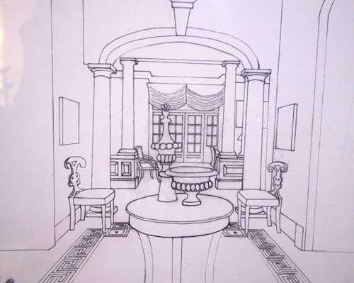 1 Point Perspective Room Drawing at GetDrawingscom Free for