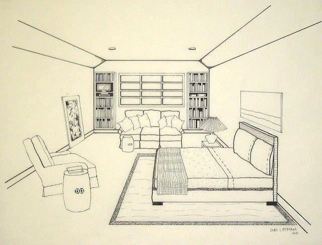 640x488 Bedroom Perspective Drawing Biggreen.club