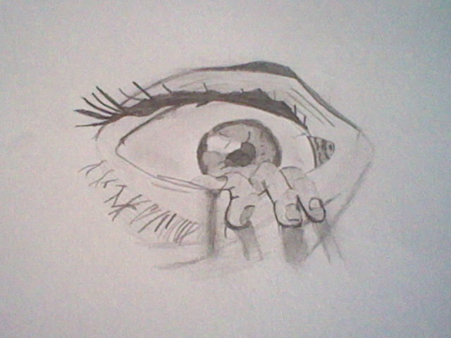 640x480 The Eye Drawing By An 11 Year Old By Slashclaws1
