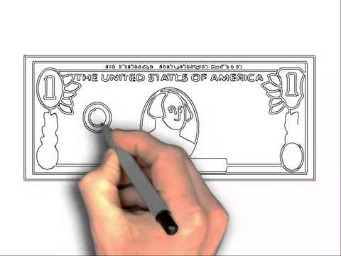 480x360 How To Draw 100 Dollar Bill And 3d Pictures