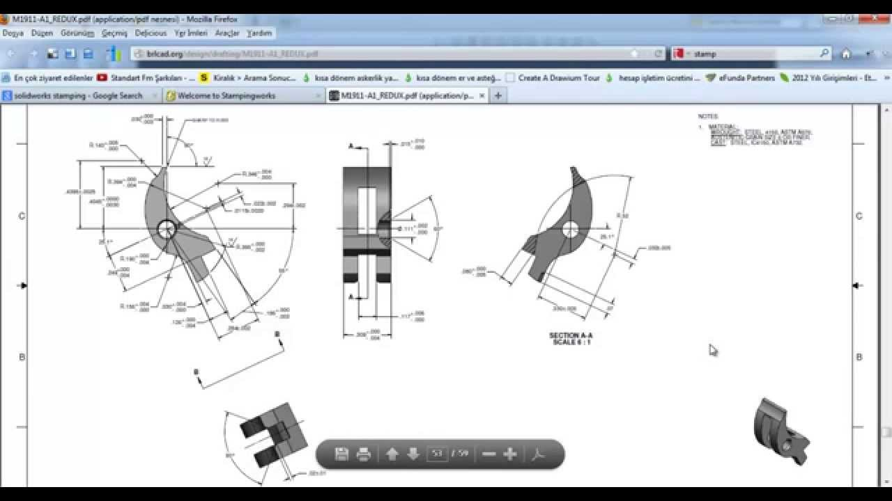 1911 Drawing At Free For Personal Use Colt Parts Diagram 1280x720 With Solidworks