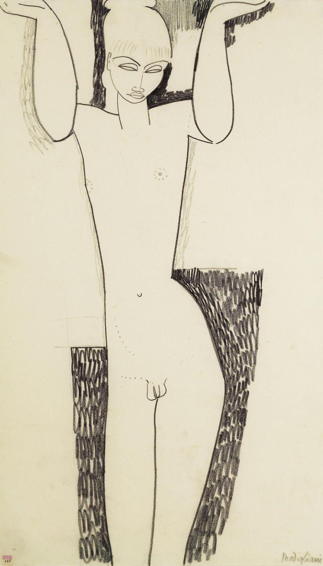 1095x1920 Untitled 1991 Modigliani 1911 I Like