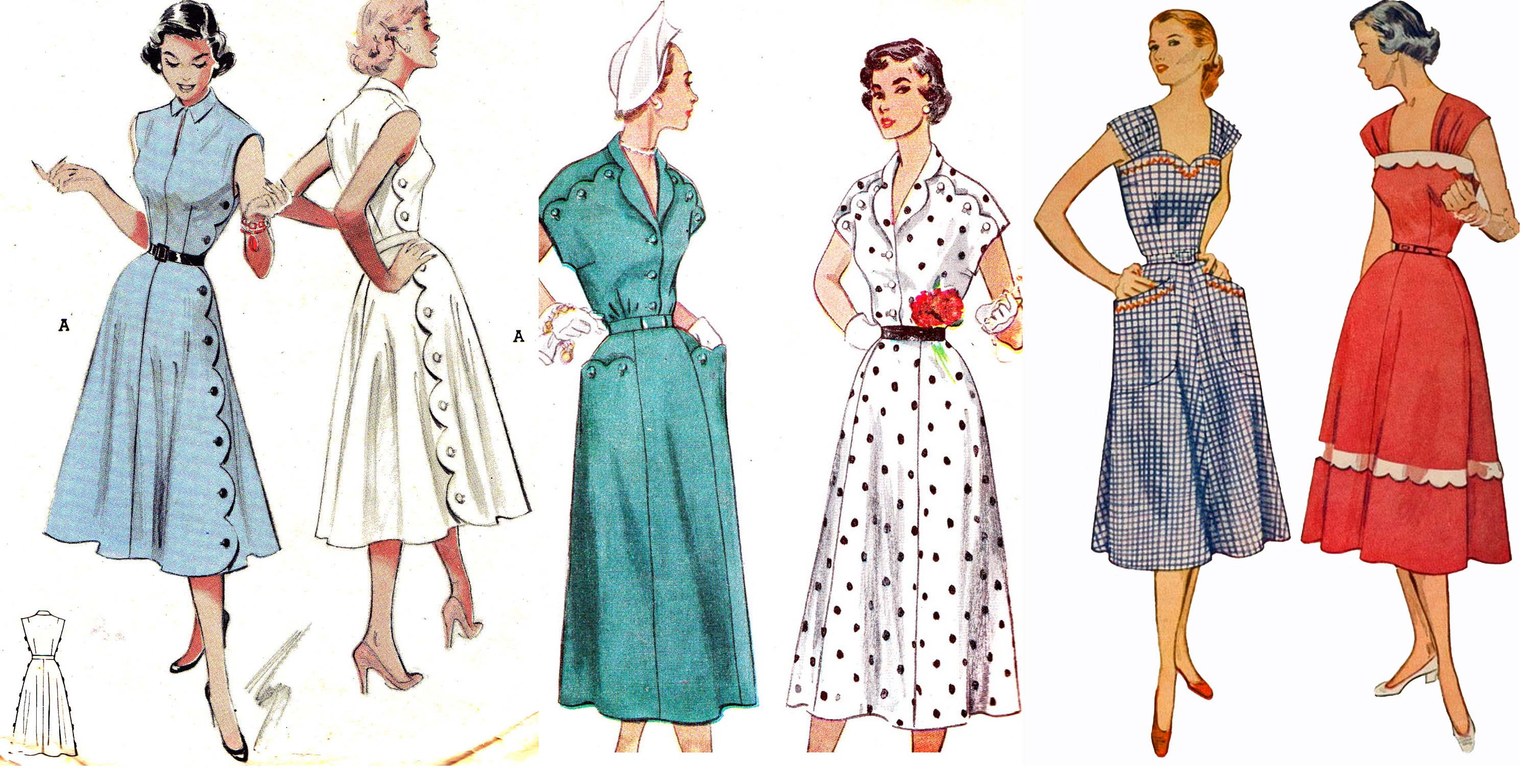 3012x1530 Fashion In The 1950s Copy1 On Emaze
