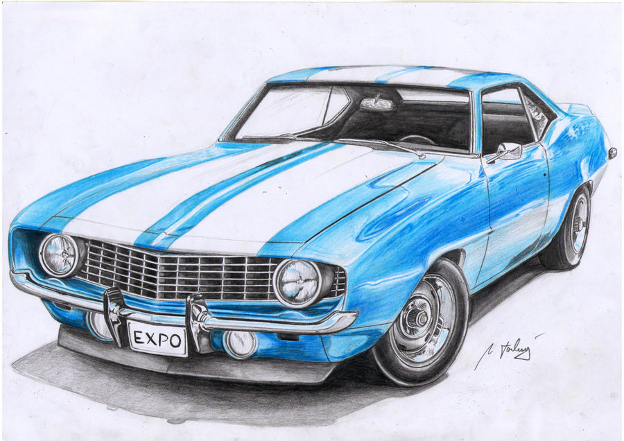 900x636 Camaro 1969 By Mipo Design