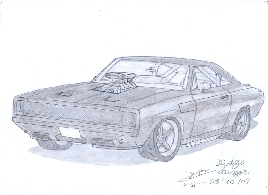 900x656 Dodge Charger 1969 By Dereck Lunar