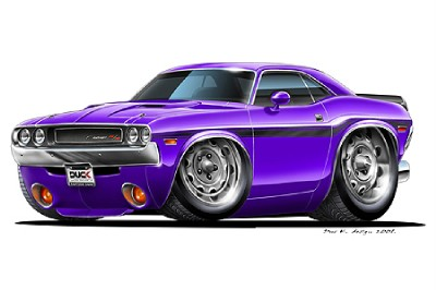 1970 Dodge Challenger Drawing at GetDrawings   Free download
