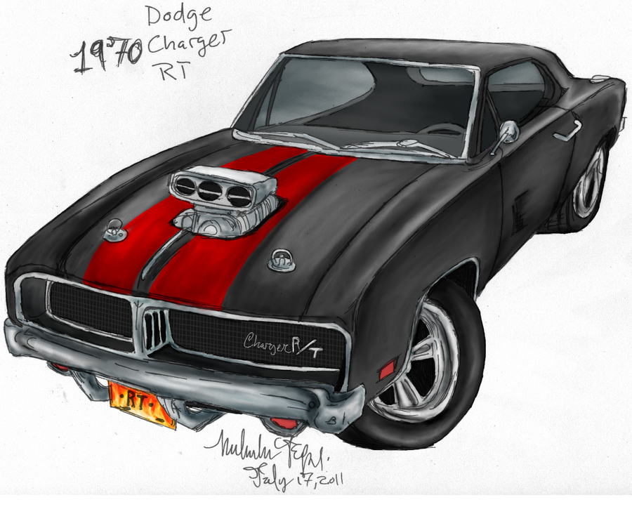 900x752 1970 Dodge Charger Rt Custom By Miahii