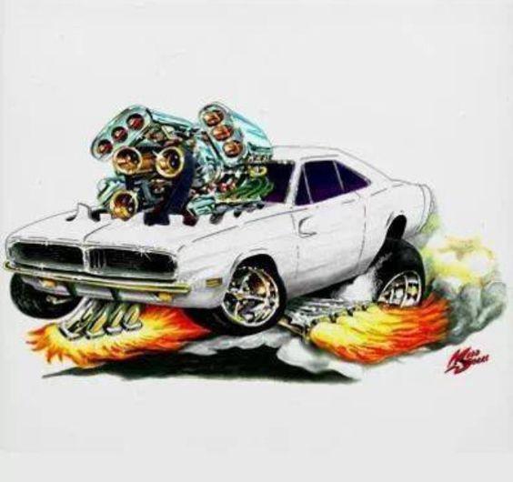 564x530 9,4 Litros, Dois Turbos, 2.000 Cv Este Maximus, O Dodge Charger