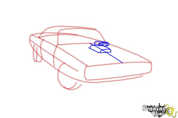 600x400 How To Draw A 1970 Dodge Charger From The Fast And The Furious