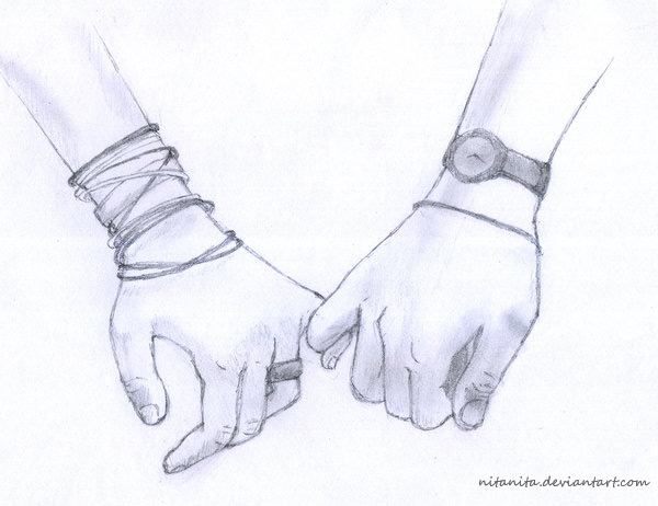 600x462 Holding Hands 2 By Nitanita