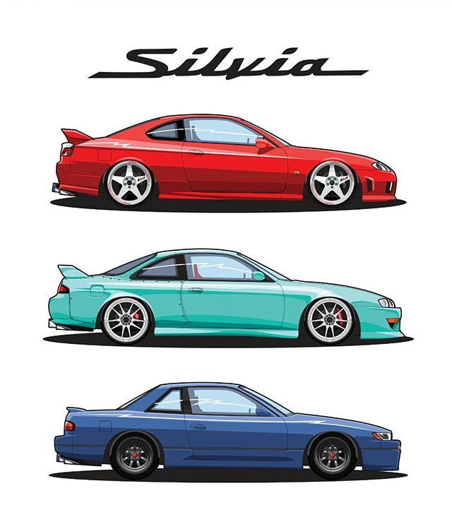 640x739 Silvia Sisters Which S Chassis Would You Choose