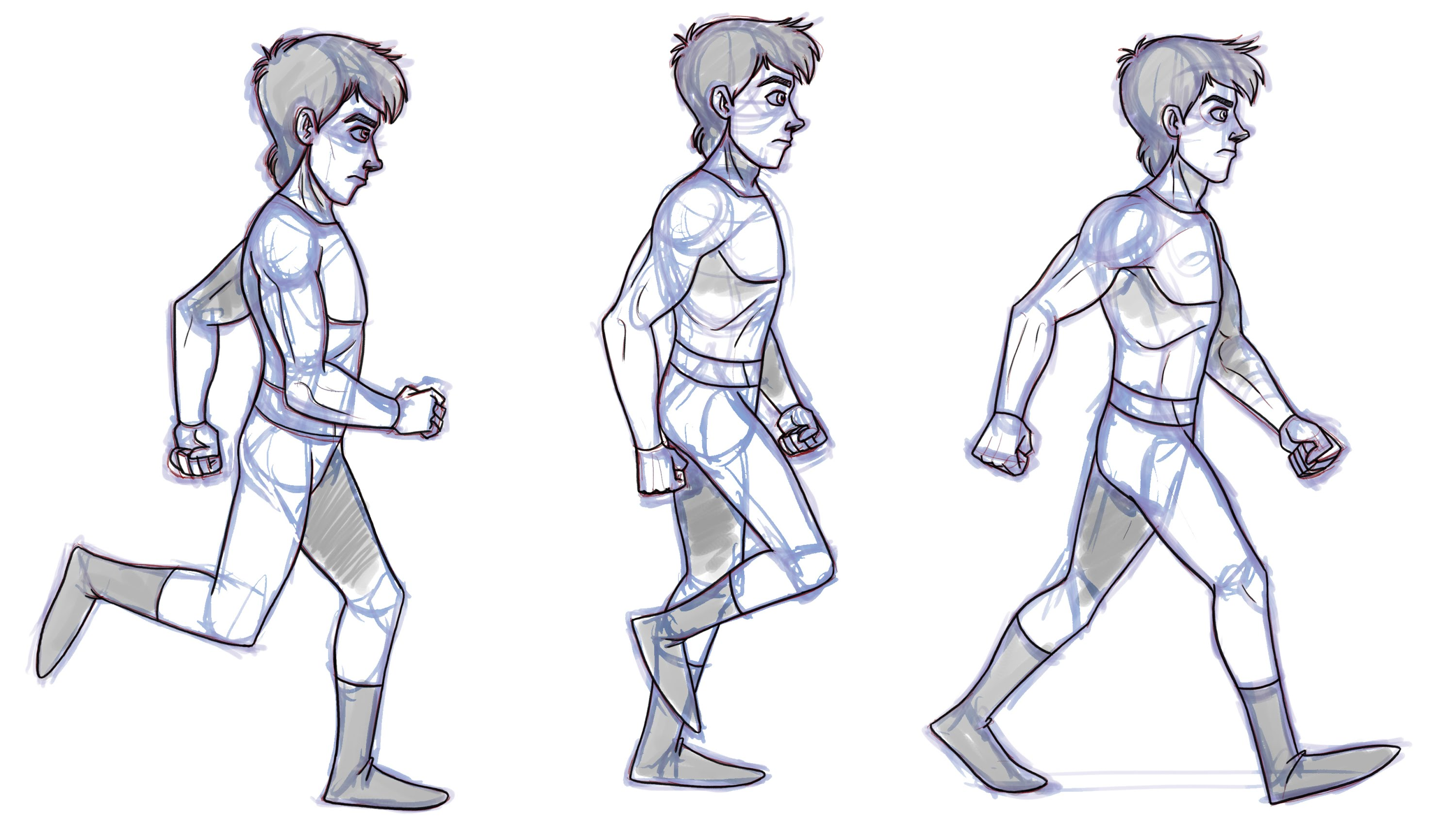 3000x1688 How To Animate A Walk Cycle Animation Tutorial