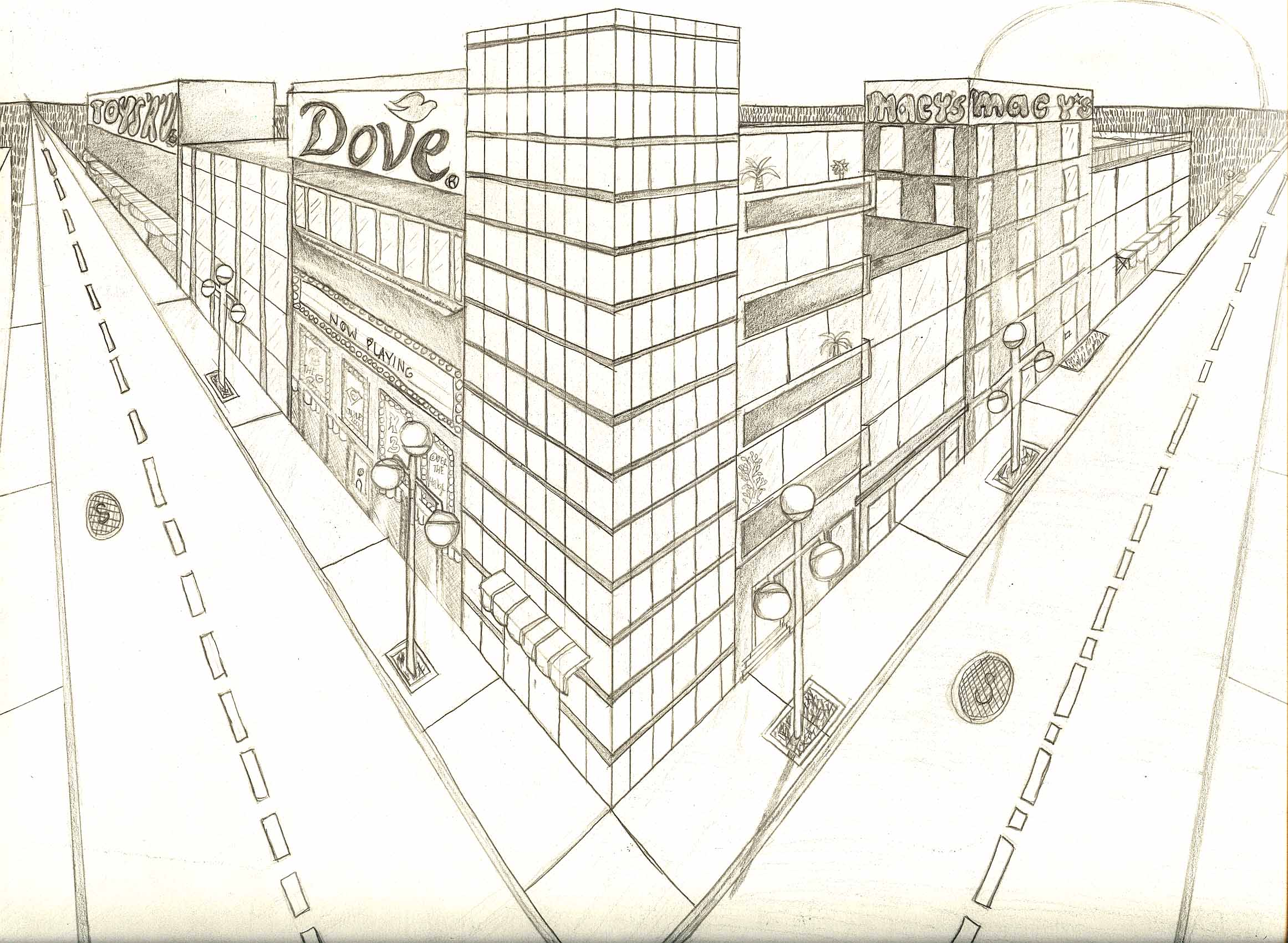 2d perspective drawing at getdrawings com free for personal use 2d