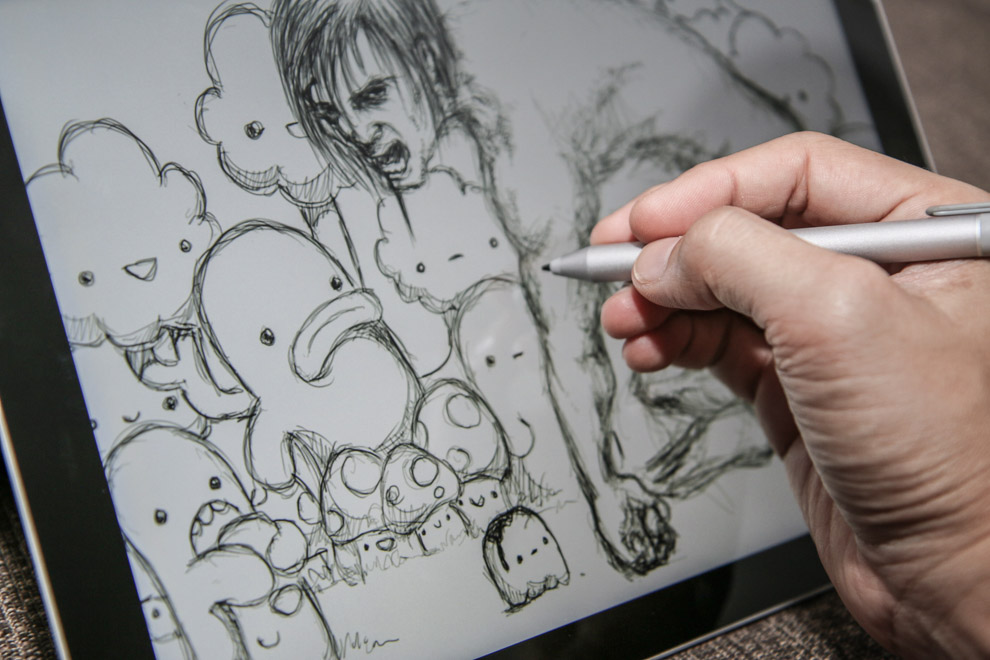 990x660 Review Microsoft Surface Pro 3 For Artists And Drawing Parka Blogs