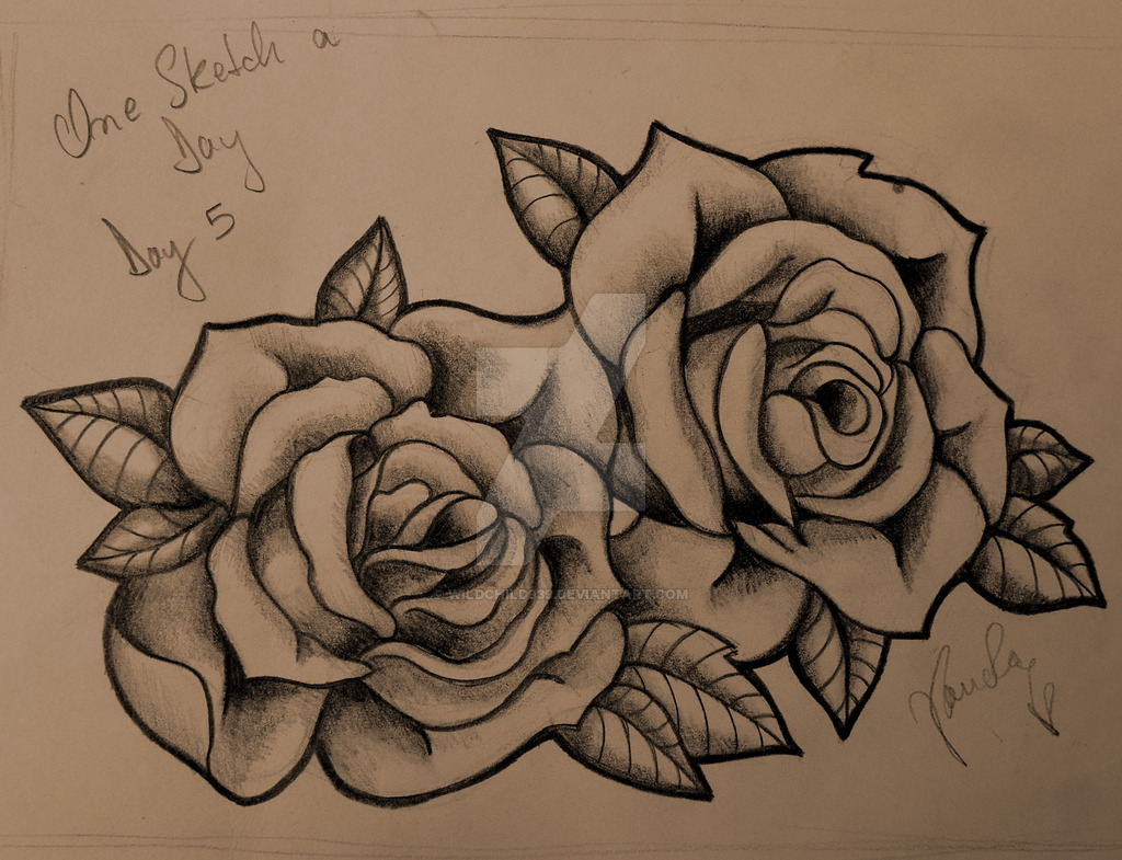 3 Roses Drawing At Getdrawings Free For Personal Use 3 Roses