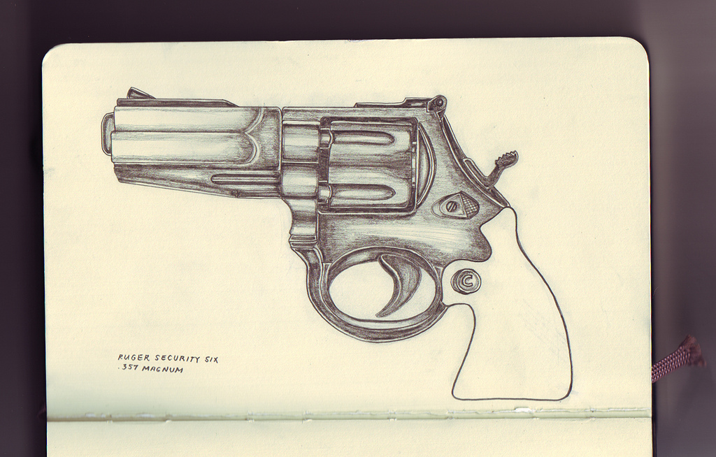 1024x654 Gun Drawings Ruger Security Six 357 Magnum I Don'T Like