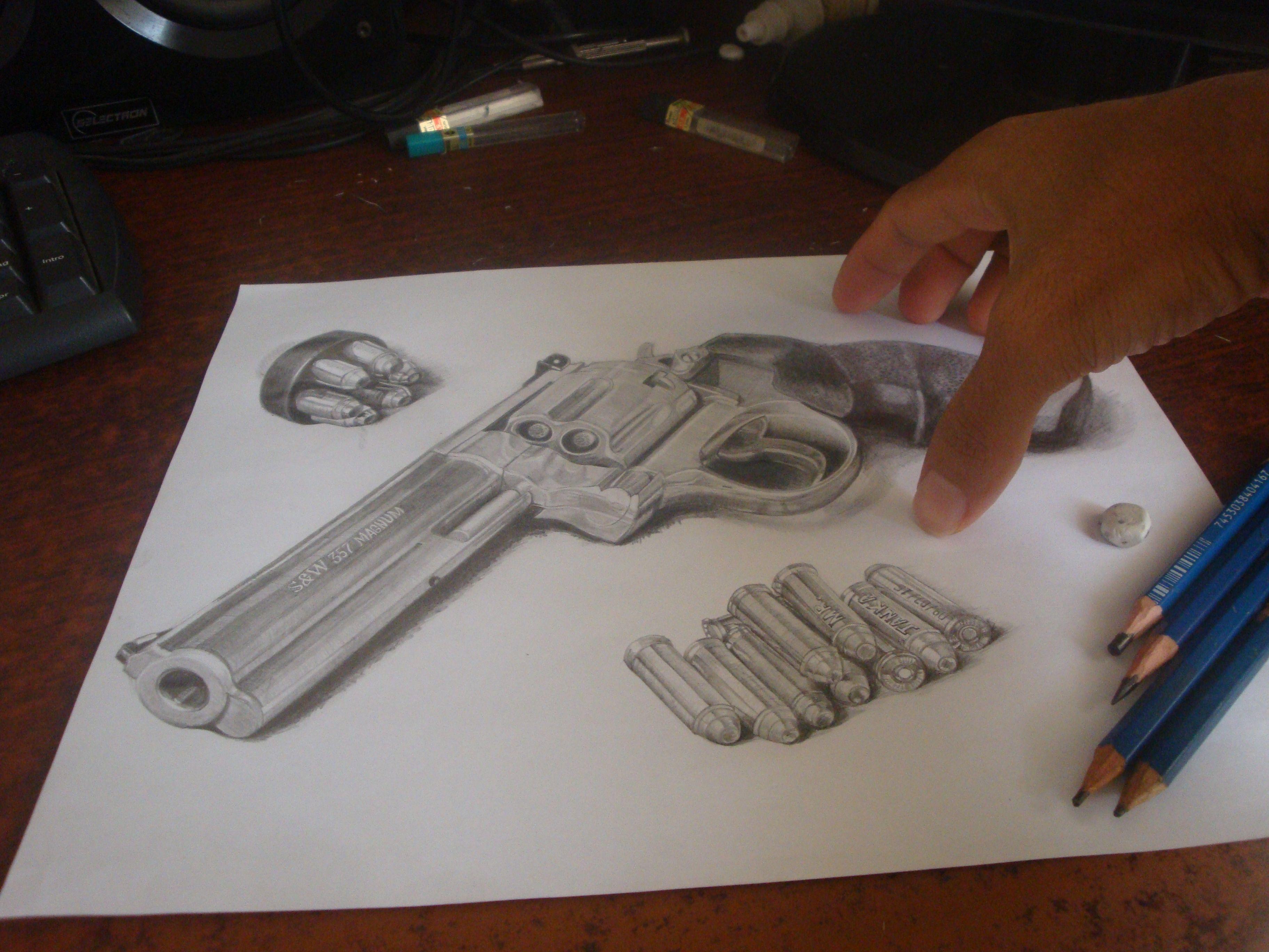 3648x2736 Smith Amp Wesson 357 Magnum Draw 3d Dibujos 357 Magnum