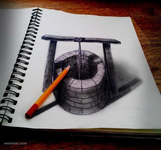 660x613 3d Drawing Art 7