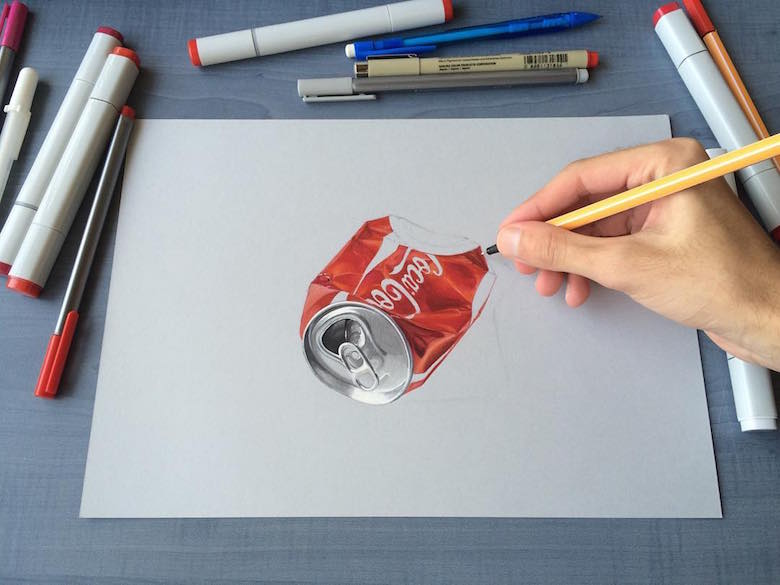 780x585 This Artist Creates 3d Drawings That Look Incredibly Real