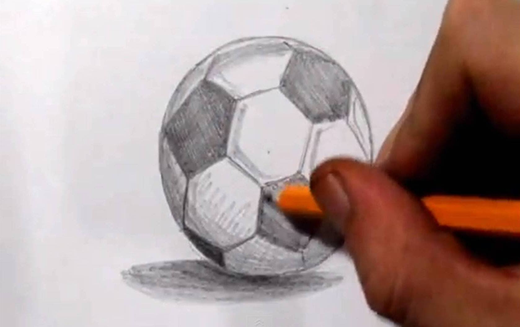 1678x1054 How To Draw A Soccer Ball Football
