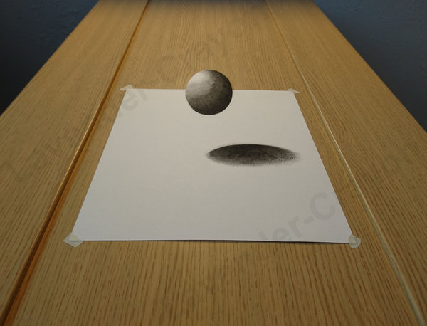 600x458 Illusion3d Ball Drawing By Lavender Crayon